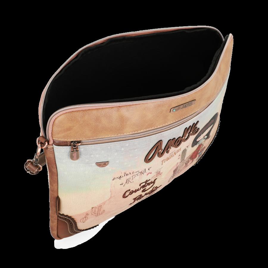 Braune IPad/Tablet Tasche  *Arizona Collection*-4