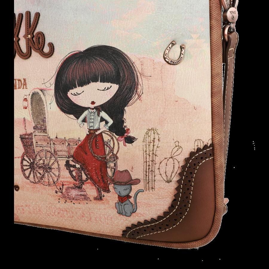Braune IPad/Tablet Tasche  *Arizona Collection*-7