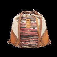 thumb-Brauner Shopper/Rucksack *Kenya Collection*-7