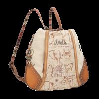 thumb-Brauner Shopper/Rucksack *Kenya Collection*-6