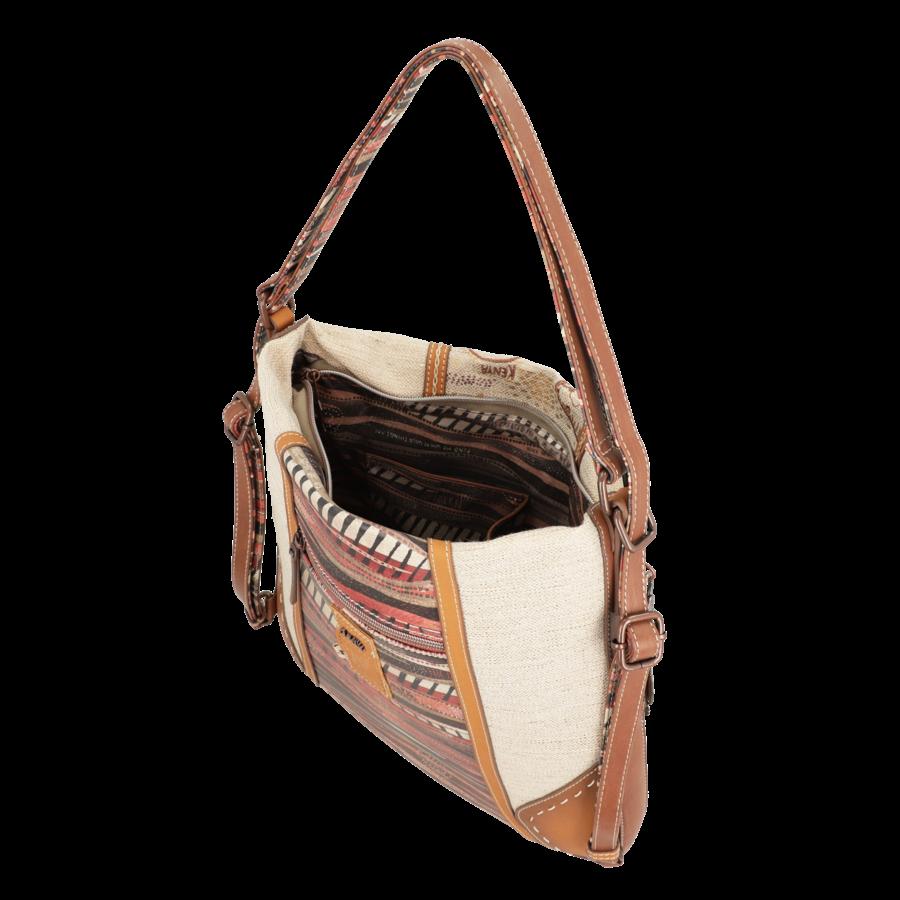 Brauner Shopper/Rucksack *Kenya Collection*-4