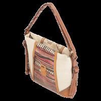 thumb-Brauner Shopper/Rucksack *Kenya Collection*-3