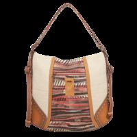 thumb-Brauner Shopper/Rucksack *Kenya Collection*-8