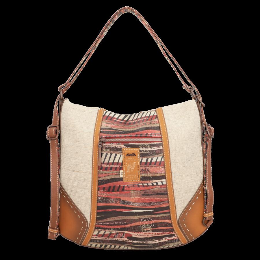 Brauner Shopper/Rucksack *Kenya Collection*-8