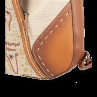 thumb-Brauner Shopper/Rucksack *Kenya Collection*-9