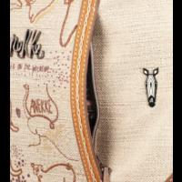 thumb-Brauner Shopper/Rucksack *Kenya Collection*-10