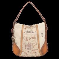 thumb-Brauner Shopper/Rucksack *Kenya Collection*-1