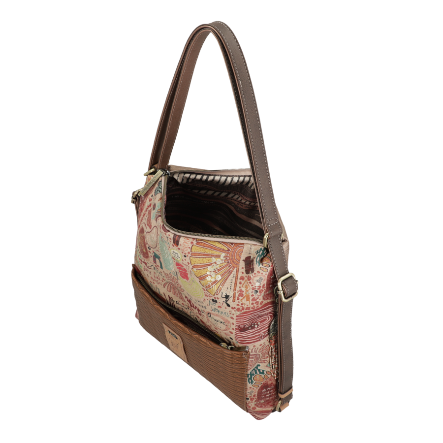 Brauner Shopper/Rucksack *Kenya Collection*-6