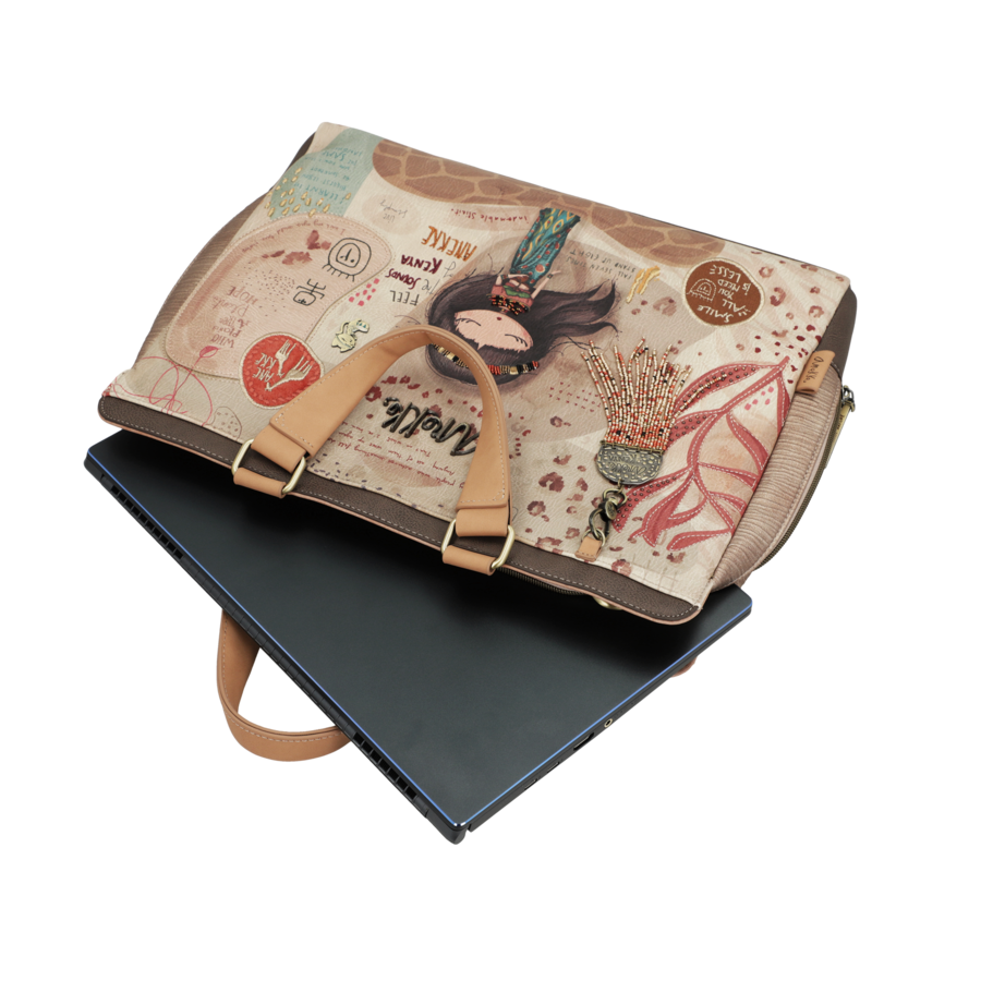Braune Multi Tasche *Kenya Collection*-4