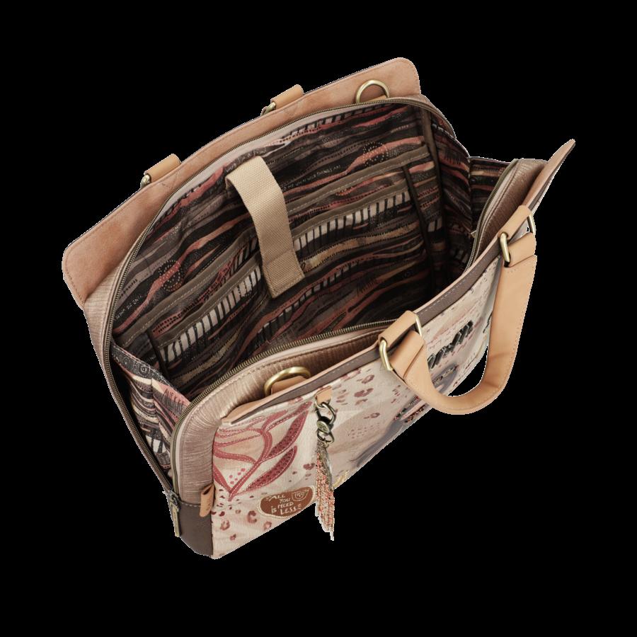 Braune Multi Tasche *Kenya Collection*-7