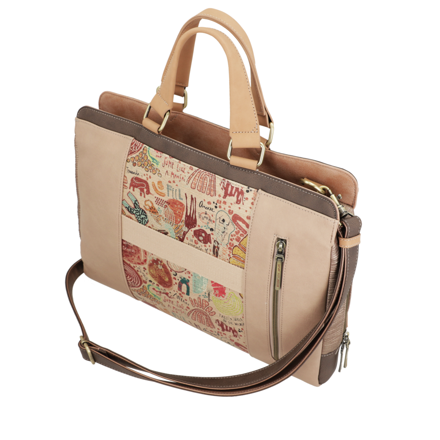 Braune Multi Tasche *Kenya Collection*-9