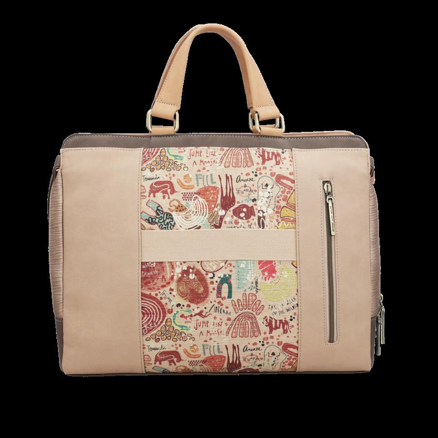 Braune Multi Tasche *Kenya Collection*-8