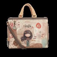 thumb-Braune Multi Tasche *Kenya Collection*-1