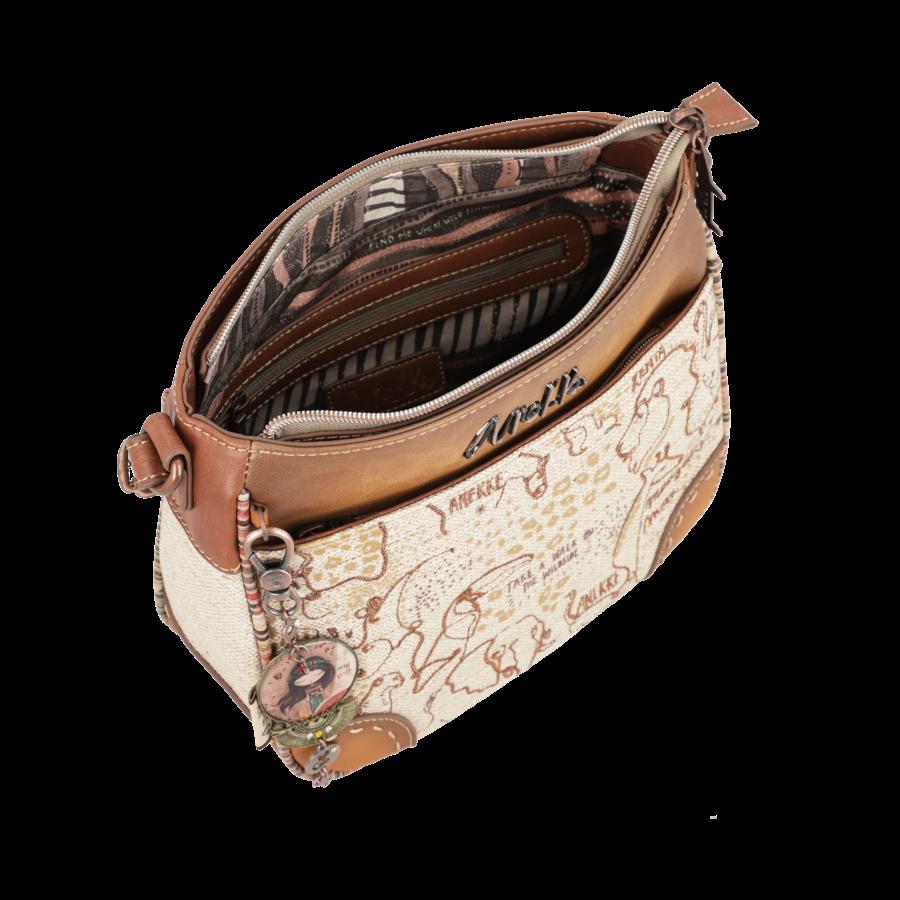 Braune Umhängetasche *Kenya Collection*-4