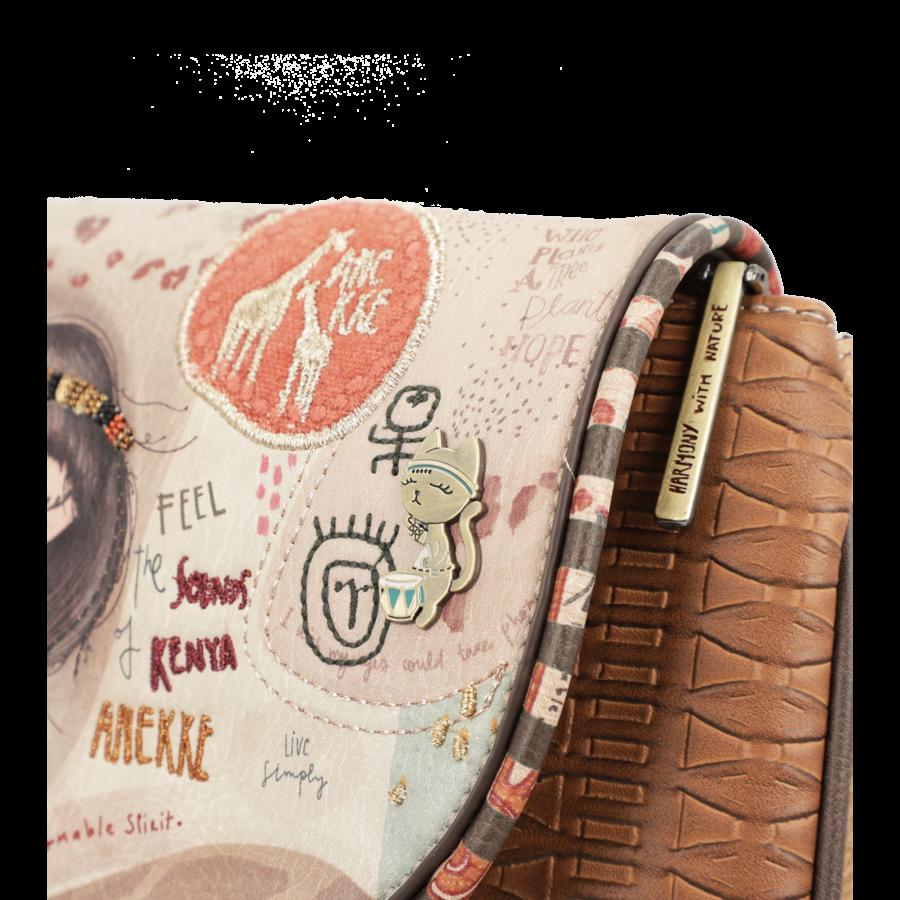 Braune Umhängetasche *Kenya Collection*-8