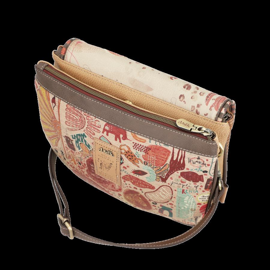 Braune Umhängetasche *Kenya Collection*-5