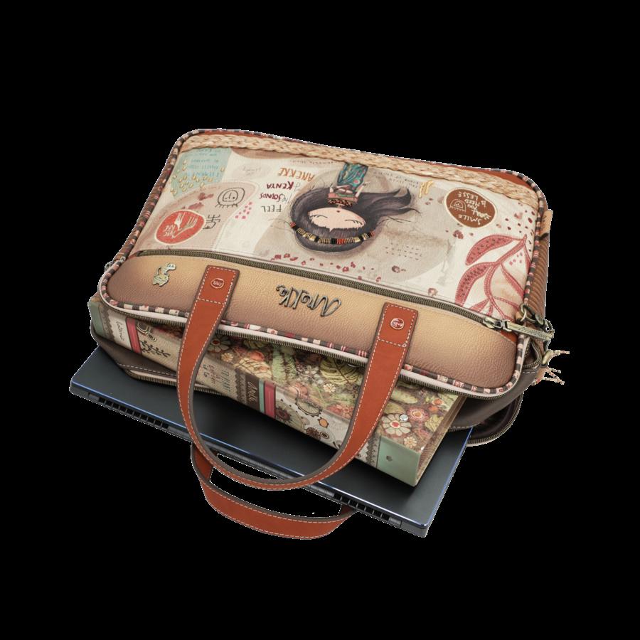 Braune Multi Tasche *Kenya Collection*-5