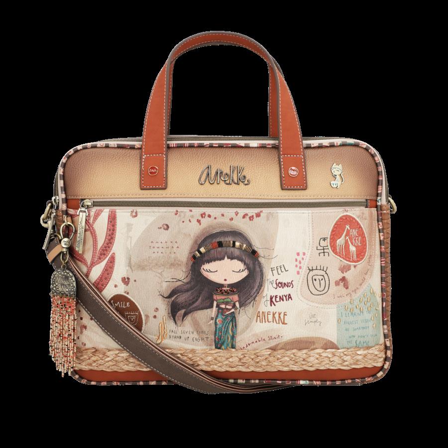 Braune Multi Tasche *Kenya Collection*-3