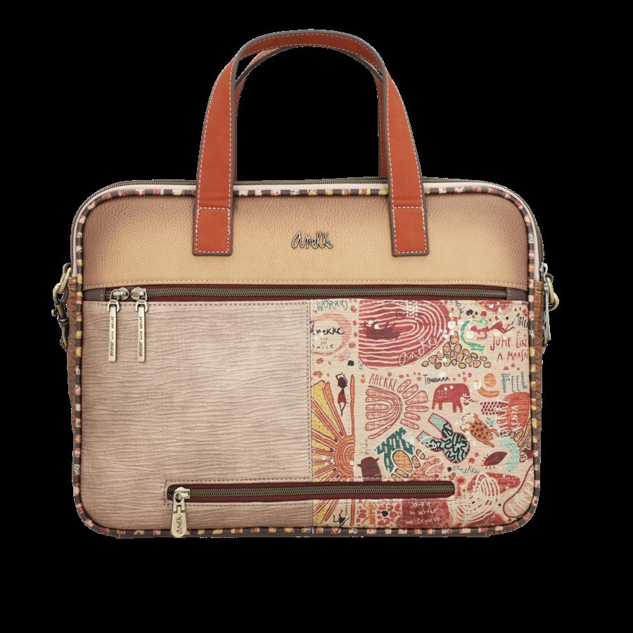 Braune Multi Tasche *Kenya Collection*-6
