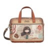 Anekke  Love to share Braune Multi Tasche *Kenya Collection*