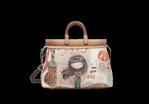Anekke  Love to share Braune Handtasche *Kenya *