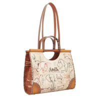thumb-Braune Handtasche *Kenya Collection*-2