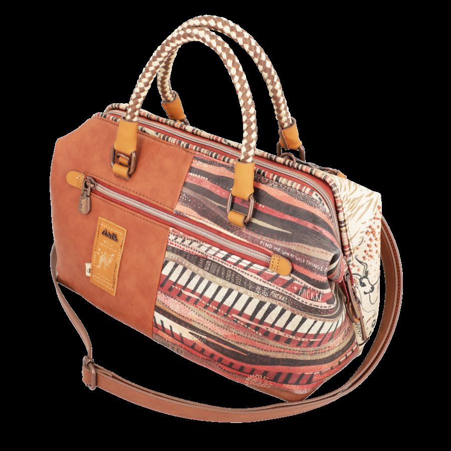 Braune Handtasche *Kenya Collection*-7