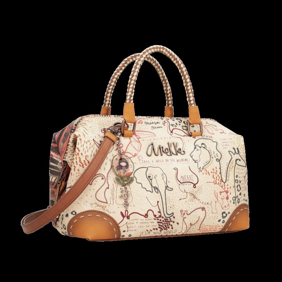 Braune Handtasche *Kenya Collection*-2