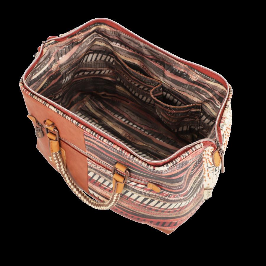 Braune Handtasche *Kenya Collection*-8