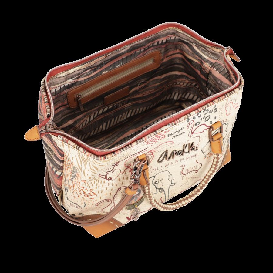 Braune Handtasche *Kenya Collection*-3
