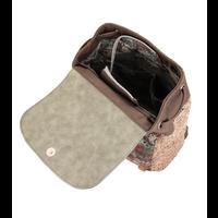 thumb-Braun/Grüner Rucksack *Ixchel Collection*-7
