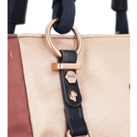 thumb-Blau/Beige Shopper *Ixchel Collection*-9