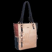 thumb-Blau/Beige Shopper *Ixchel Collection*-2