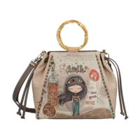 thumb-Braune Handtasche *Kenya Collection*-1