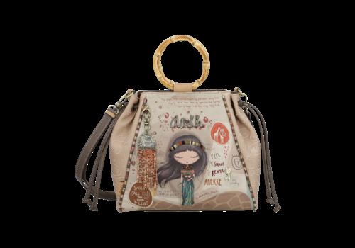 Anekke  Love to share Braune Handtasche *Kenya*