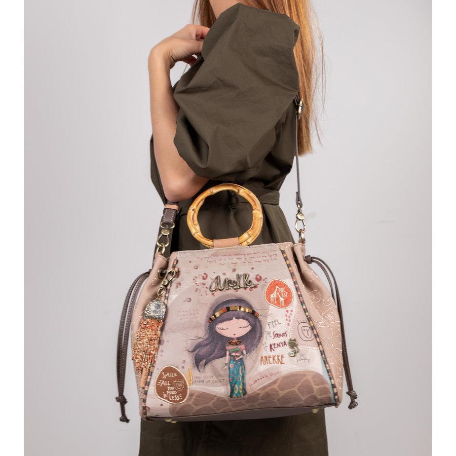 Braune Handtasche *Kenya Collection*-10