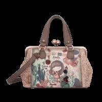 thumb-Beige/Rosé Handtasche *Ixchel Collection*-1