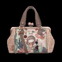 thumb-Beige/Rosé Handtasche *Ixchel Collection*-3