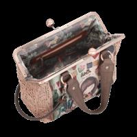 thumb-Beige/Rosé Handtasche *Ixchel Collection*-4