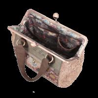 thumb-Beige/Rosé Handtasche *Ixchel Collection*-8