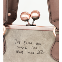 thumb-Beige/Rosé Handtasche *Ixchel Collection*-9