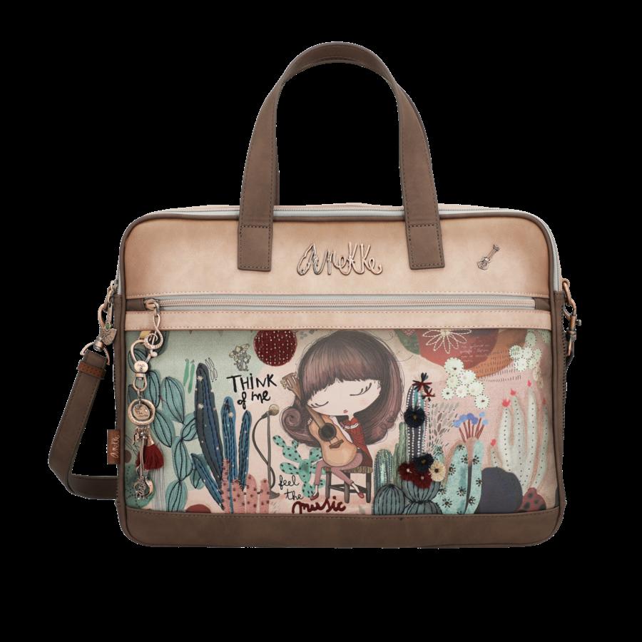 Braune Multi Tasche *Ixchel Collection*-1