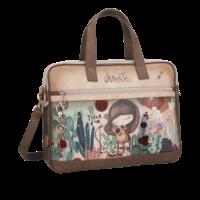 thumb-Braune Multi Tasche *Ixchel Collection*-2