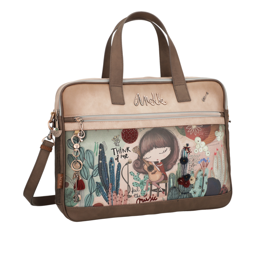 Braune Multi Tasche *Ixchel Collection*-2