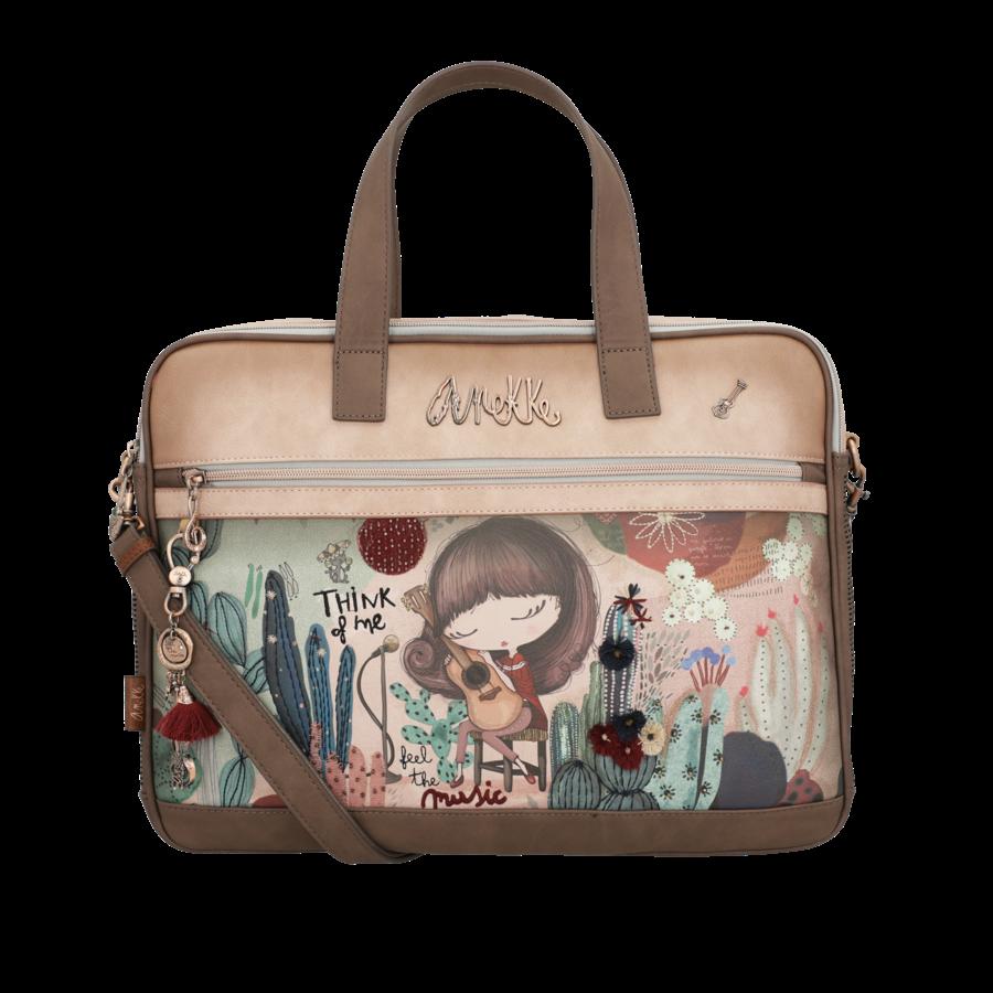 Braune Multi Tasche *Ixchel Collection*-3