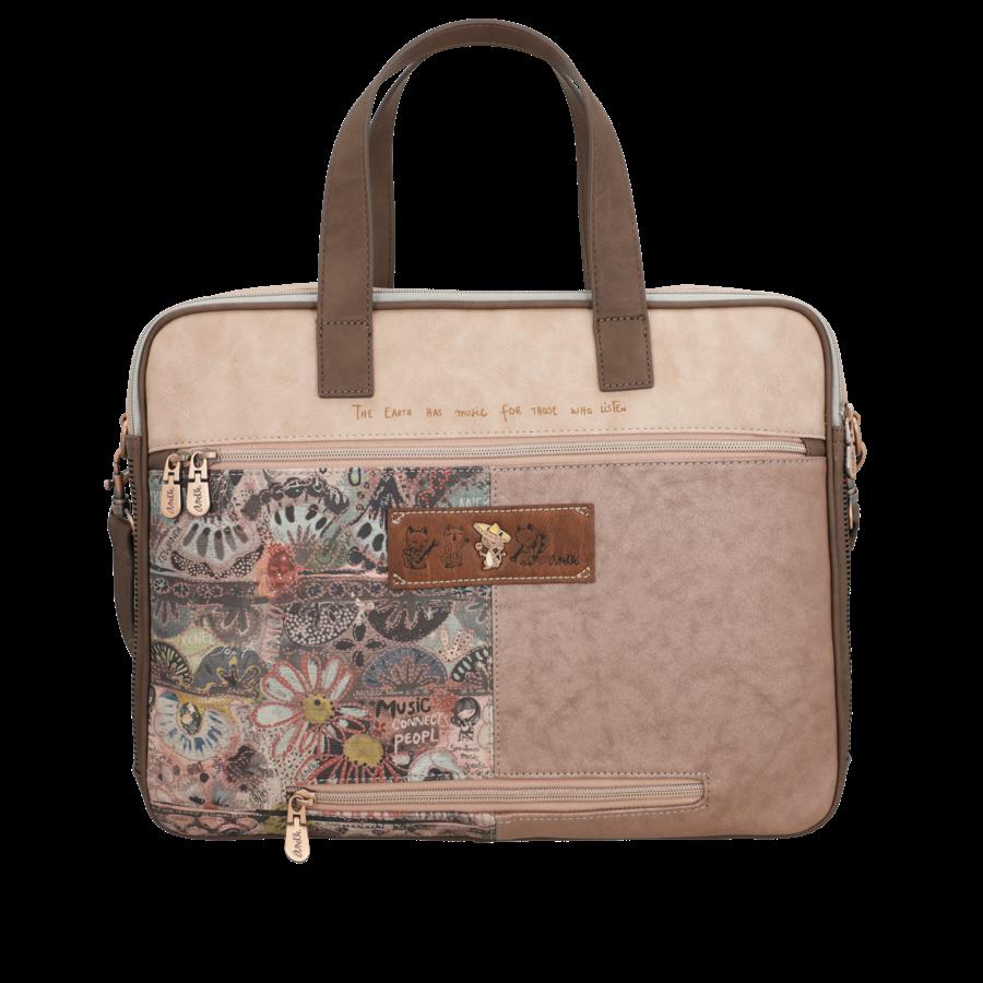 Braune Multi Tasche *Ixchel Collection*-6