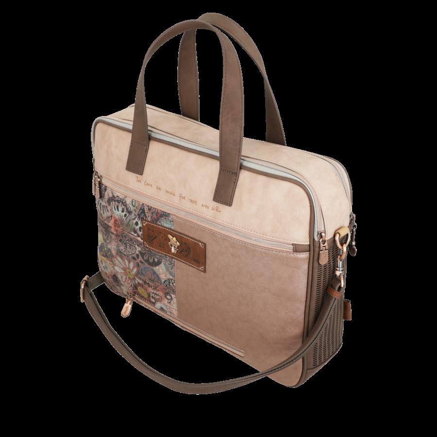 Braune Multi Tasche *Ixchel Collection*-7