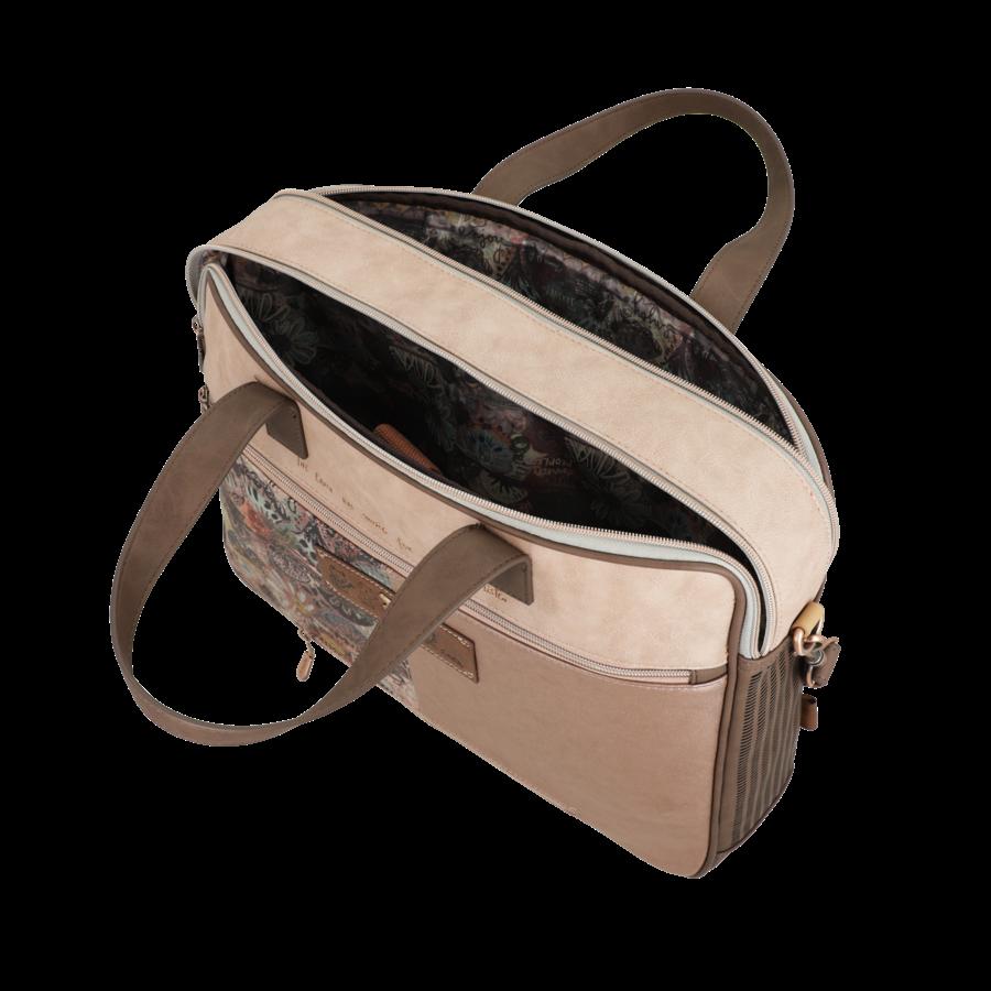 Braune Multi Tasche *Ixchel Collection*-8