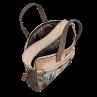thumb-Braune Multi Tasche *Ixchel Collection*-4