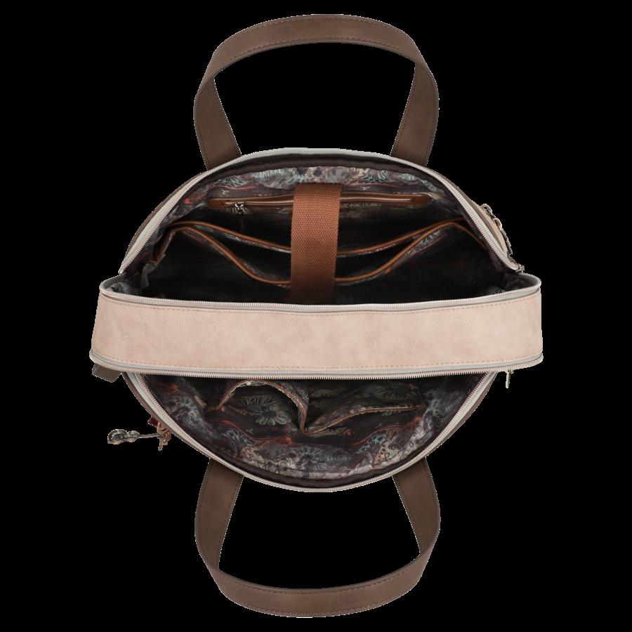 Braune Multi Tasche *Ixchel Collection*-9